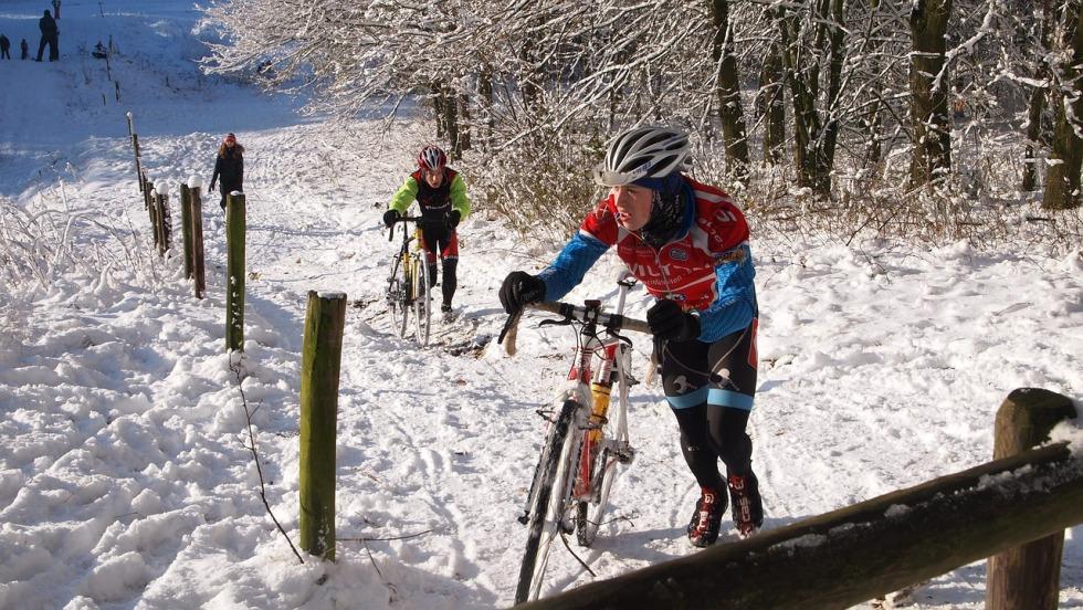 Zimowe rękawiczki rowerowe